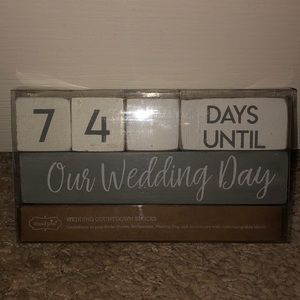 Wedding & Bridal Shower Countdown!